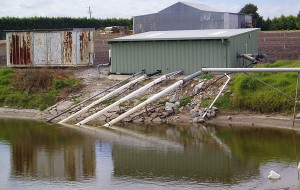Irrigation-dam